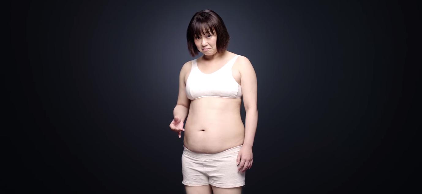 女優佐藤仁美さんが太ってた頃